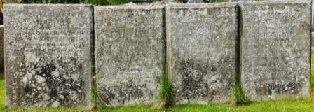 18th century gravestones Milltown of Rothiemay